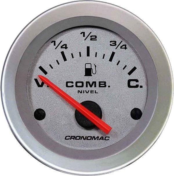 Indicador Nível de Combustível ø52mm 099 Racing   Cronomac