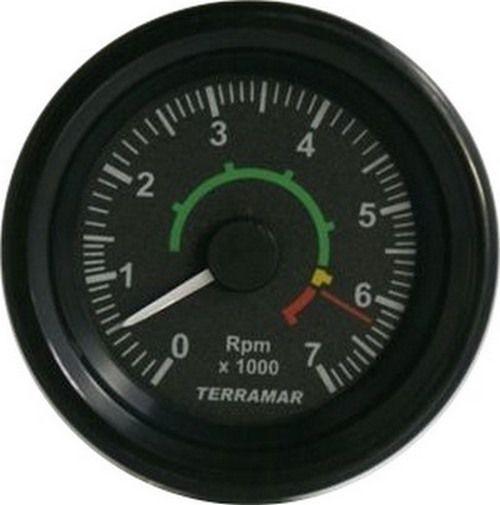 CONTAGIROS 7000 RPM 12/24V 60 MM MOTOR ROTAX 912 (100 HZ P/ 500 RPM)