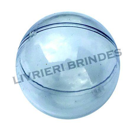 Esfera Acrílica Transparente - Pacote com 5