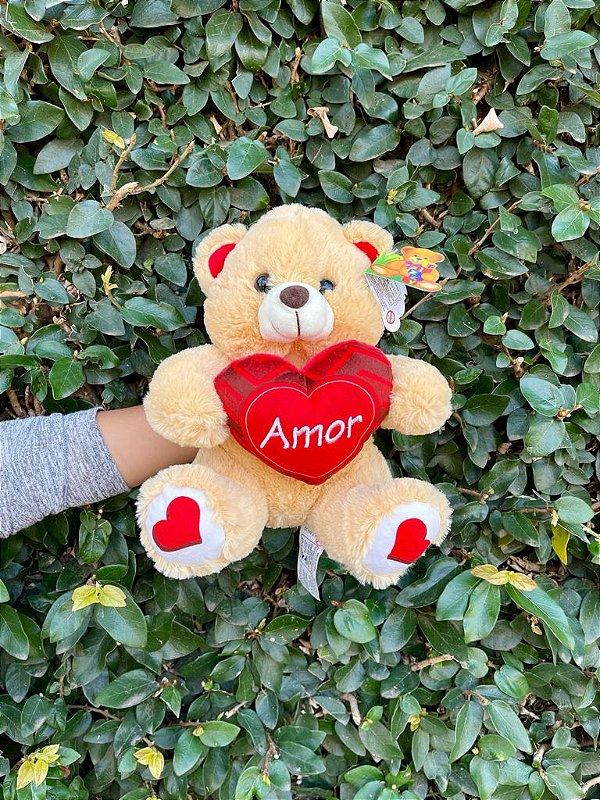 Urso Amor 30x24cm