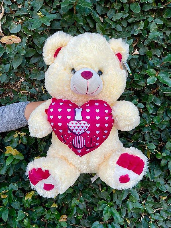 Urso I Love You 50X40cm