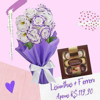 Lisianthus Plantado com Ferrero Collection