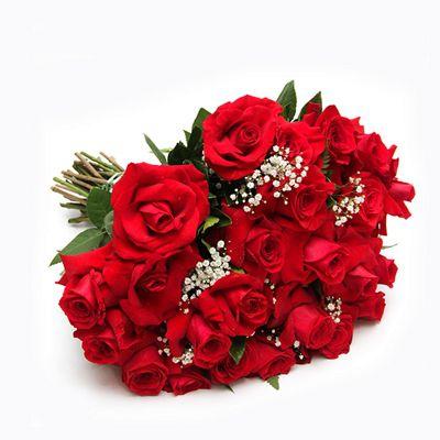 Buquê de 48 Rosas Vermelhas Nacionais