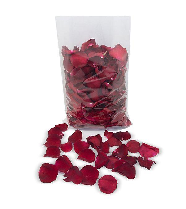 Pétalas de rosas em Pacote