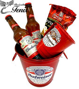Balde de Cerveja Pequeno Budweiser
