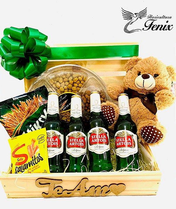 Baú de Cerveja Stella Artois com Ursinho Dudu