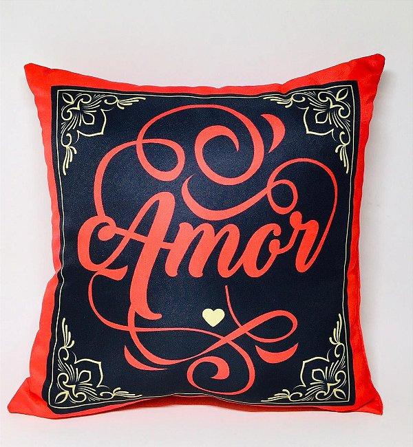 """Almofada """"Amor"""""""