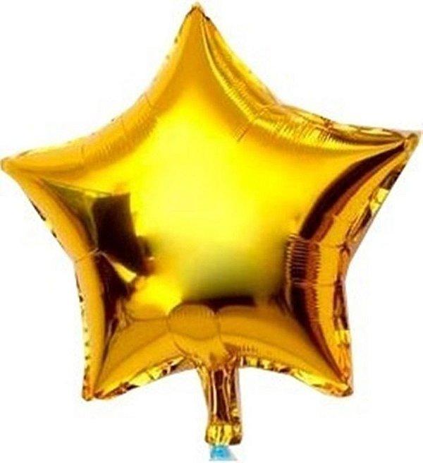 Balão estrela metalizada G