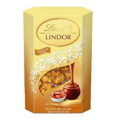 Chocolate Lindt Lindor 200g Sabor doce de leite