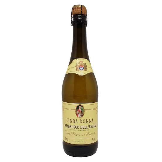 Vinho Lambrusco Linda Donna Frisante Branco 750 ml