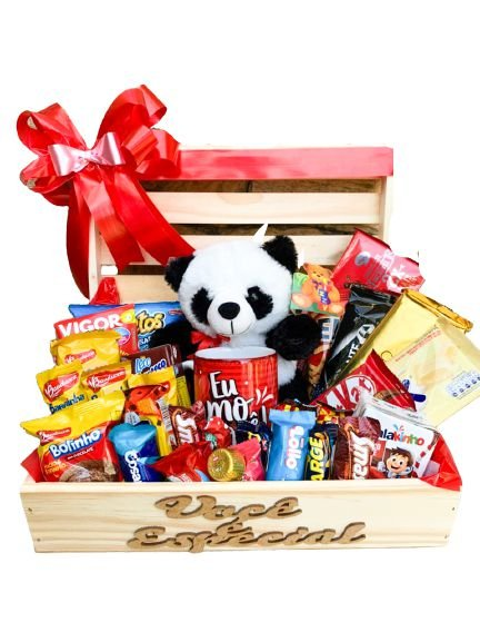 Baú Delicious Com Panda