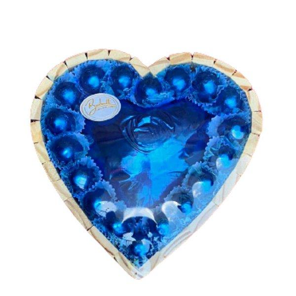 Coração de chocolate grande 328g