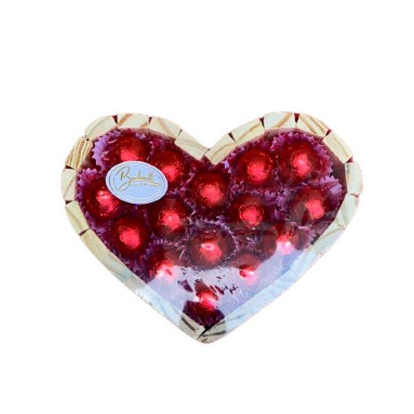 Coração de chocolates 206g