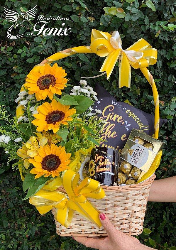 Luxuosa Flores do Sol Para Alguém Especial