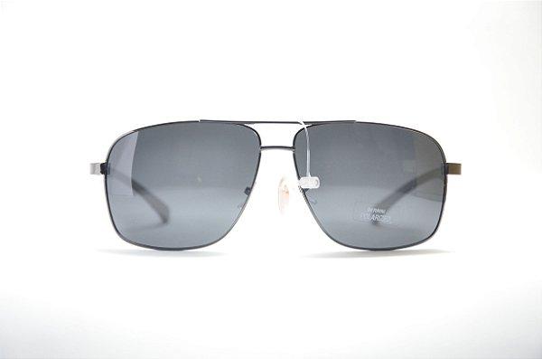 e29dd1564dbe8 Óculos de sol Berrini masculino redondo metal lente espelhada polarizada  proteção UV400 - RSJ8603