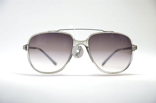 Óculos de sol feminino ou masculino redondo metal proteção UV400 lente  espelhada moda Phantom unissex 41ae64ecb4