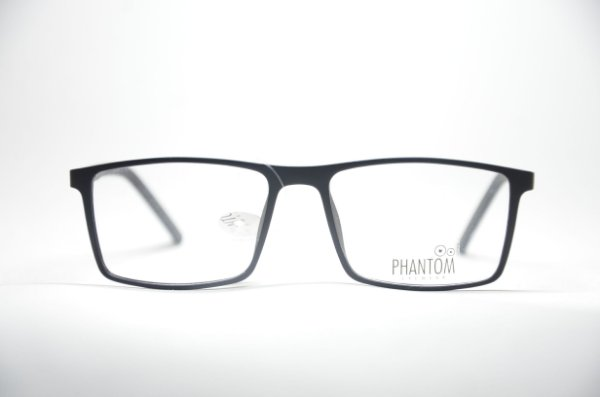778ab67d6b1b5 Armação para grau óculos masculino preto quadrado resistente TR multifocal  qualidade Phantom moda 2019