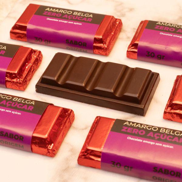 Tablete Origem Chocolate amargo Sem Açúcar - 30g