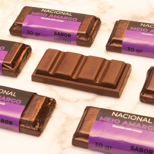 Tablete Origem Chocolate Meio Amargo - 30g