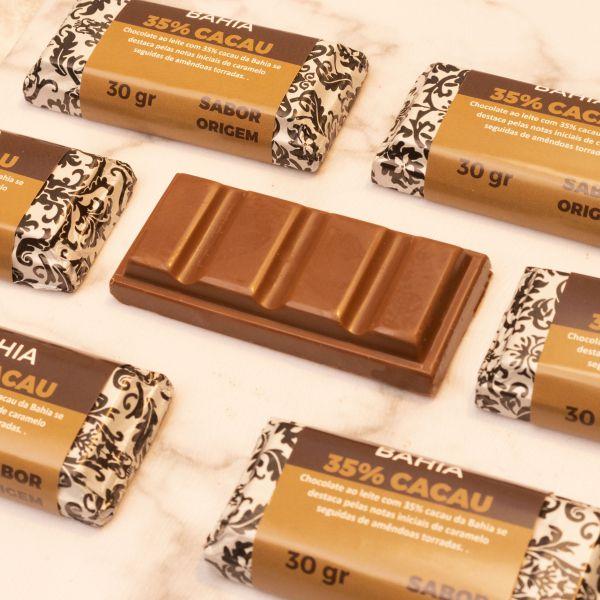 Tablete Origem Chocolate Bahia 35% Cacau - 30g
