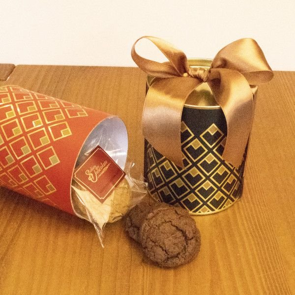 Lata Tubo Cookies - 90gr