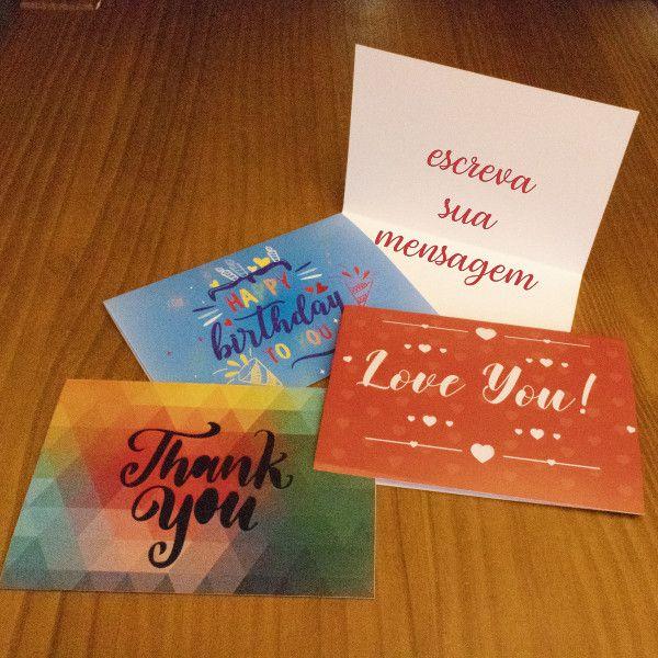 Cartão Mensagem Personalizada