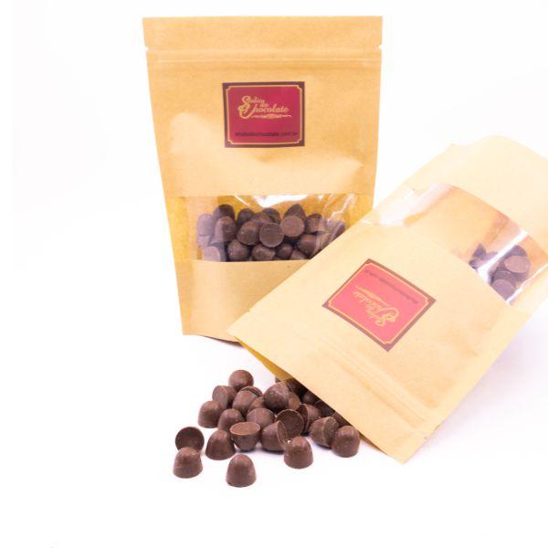 Delícia de Chocolate - Mini Pingo de Chocolate Ao Leite