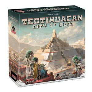 Teotihuacan: City of the Gods com Insert em MDF