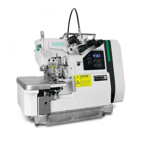 Maquina Overloque Ponto Cadeia  com Embutidor Manual Zoje B9500-181 - 220 V