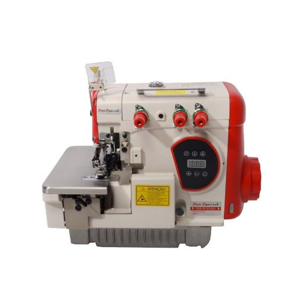 MAQUINA OVERLOQUE INDUSTRIAL DIRECT DRIVE SUN SPECIAL SS93D-PR - 220 V