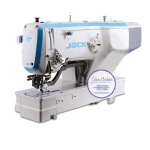 Máquina de Costura Caseadeira Reto até 40 mm Industrial Eletrônica JACK JK-T 1790BS - 220 V