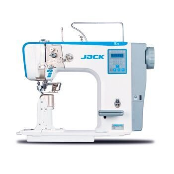 Maquina de costura de coluna de 1 agulha eletrônica Jack JK-S5-91 - 220 V