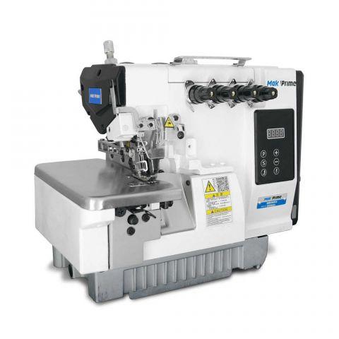 Maquina Overloque 2 agulhas Ponto Cadeia com Motor Direct Drive Mak Prime MB9004 - 220 V