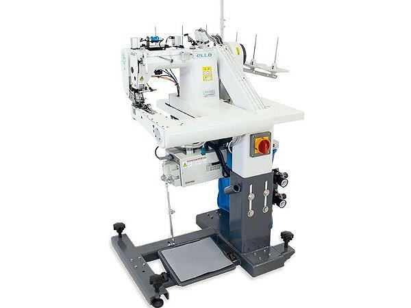 Maquina de costura Fechadeira de Braço eletronica de 3 Agulhas ELLO EL-9280AT-RPL - 220 V