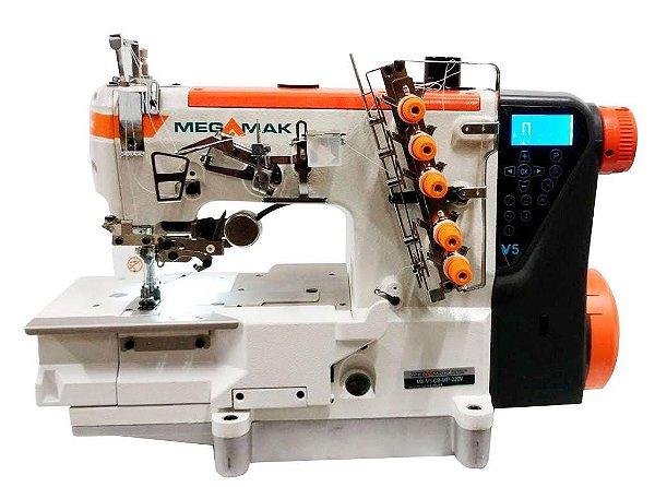MAQUINA GALONEIRA BASE PLANA 3 AGULHAS ELETRONICA MEGAMAK MODELO V5 -220V