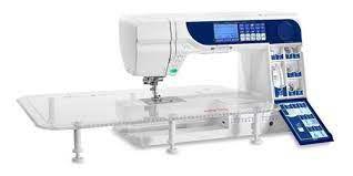 Maquina de Costura Elna 760 Excellence com 270 pontos e mesa de extensão inclusa Bivolt