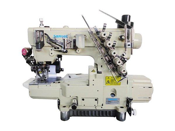 Maquina Galoneira Eletronica Cilindrica com Catraca Sansei SA-L6700-D-7/P/CL - 220 V