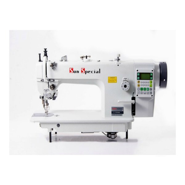 Máquina de Costura Reta Transporte Duplo Eletrônica Sunspecial - SSTC1430-D3 - 220 vlts