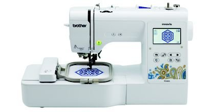Máquina De Bordar Brother Pe460ldv + Kit com 10 Linhas de bordados