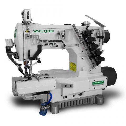 Maquina de Galoneira Eletrônica Zoje Cilíndrica BD com Refilador e Sugador ZJ-C2521-164M-BD-PD3C - 220 V