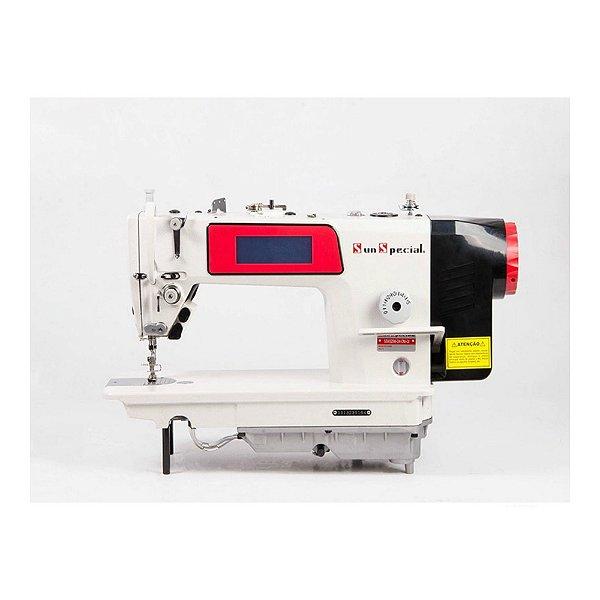 Máquina Reta Eletrônica Sun Special com Painel Touch Carter Blindado SS9300M-D4-DM-QI - 220 vlts + KIT DE CALCADORES