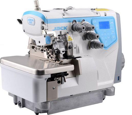 Maquina de Costura Overloque Eletronica 3 fios Jack JK- C4-3-02/233- 220 VLTS