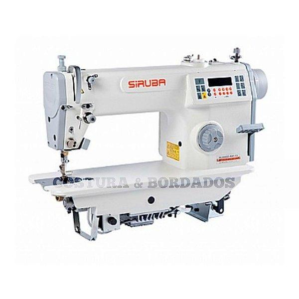 Máquina  de Costura Reta Eletrônica Siruba ML8000-M1-13 - 220 vlts + KIT DE CALCADORES