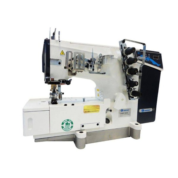 Maquina Galoneira Sansei Base Plana 3 Agulhas Direct Drive SA-MW1-364DD - 110 V