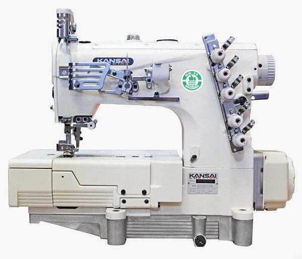 Maquina de Costura Galoneira  3 Agulhas Kansay Japão WX8803D -