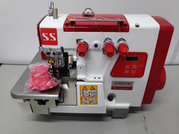 MAQUINA OVERLOQUE 3 FIOS DIRECT DRIVE SUNSPECIAL SS798D-3 - 220 V