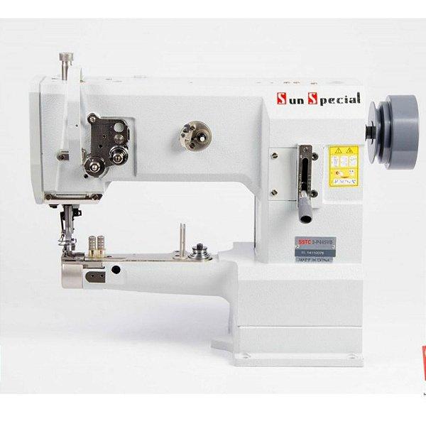 Máquina de Costura Industrial de Braço Cilíndrica Transporte Triplo Sunspecial SSTC3-P445-VB - Bivolt