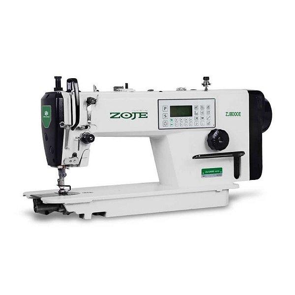 Maquina Reta Eletrônica Direct Drive Lançadeira Grande Zoje ZJ-8000E-D4J-HG-02 - 220 V