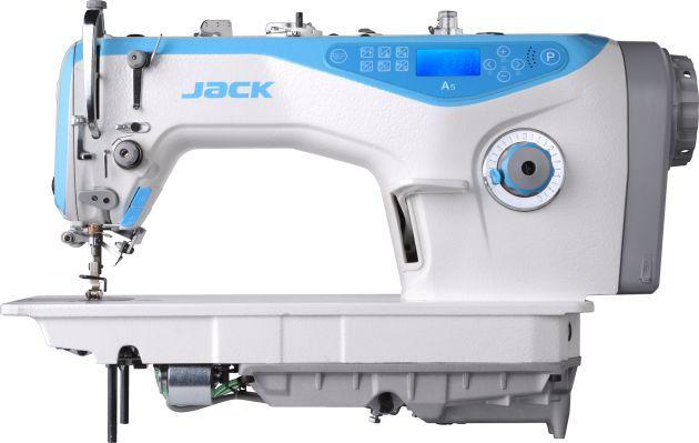 MAQUINA DE COSTURA RETA ELETRONICA JACK A5 COM CARTER BLINDADO CORTE DE LINHA 3,5 MM - 220 V