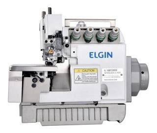 Máquina de Costura Interloque Motor Direct Drive Elgin 5 Fios - IL1067 - Bivolt